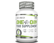 BIOTECHUSA ONE A DAY MULTIVITAMINICO UNO AL DIA DE A-Z 100 CAPS